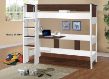 9009-L Denver Single Loft Bunk