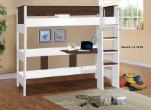 9010-R Denver Single Loft Bunk